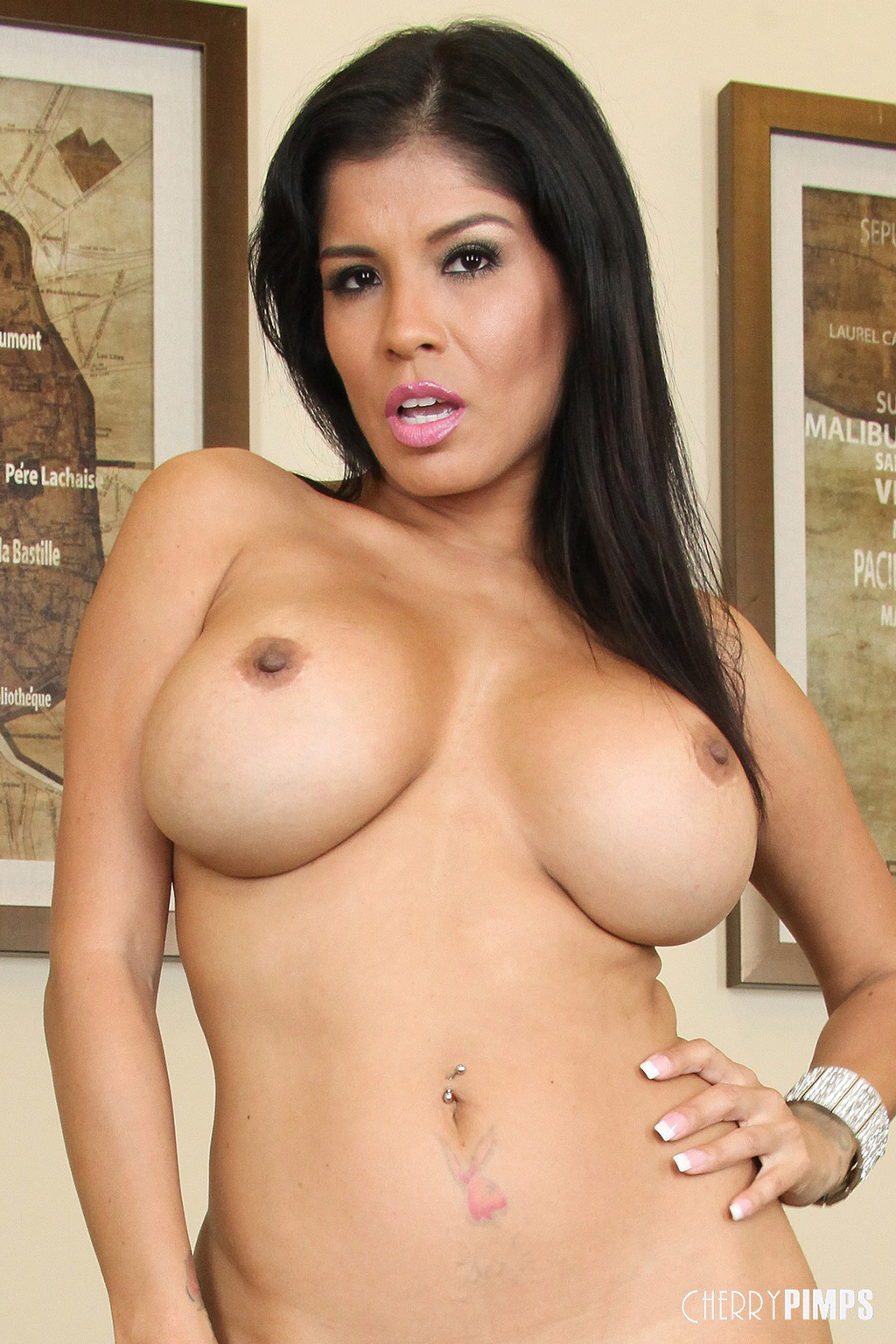 Busty Milf Porn Gallery alexis amore latina milf flashes busty curves