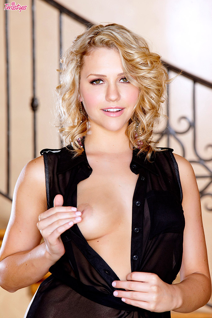 Mia Malkova Sexy Blonde Can't Resist Playing with Her Pussy