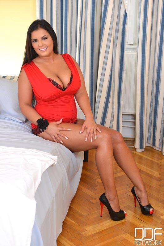 Jasmine Black Strips Red Lingerie