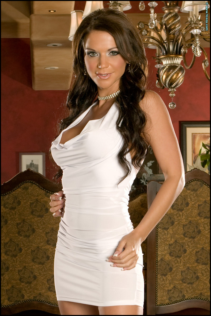 Rebecca Rayann White Dress