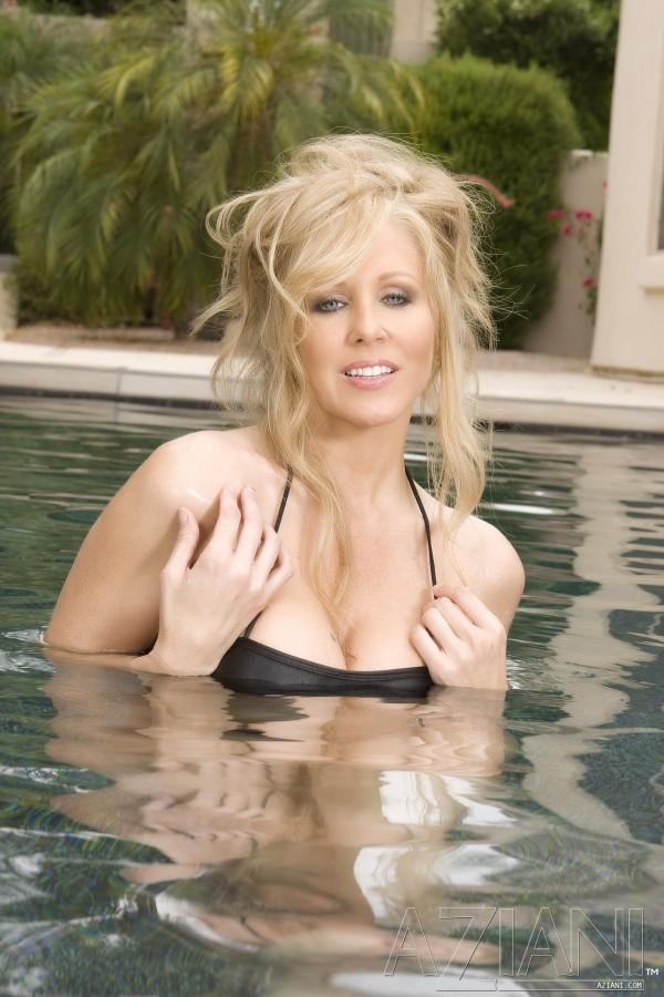 Julia Ann Goes For A Dip