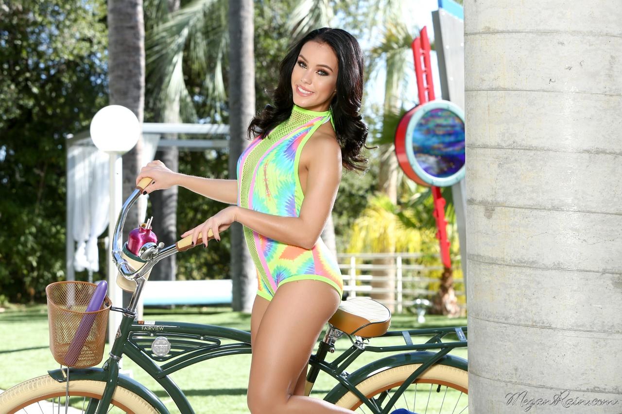 Megan Rain from Bicycle Ride to Masturbation