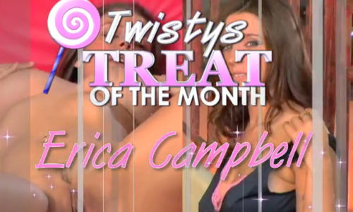 Erica Campbell Twistys Treat of the Month January 2006