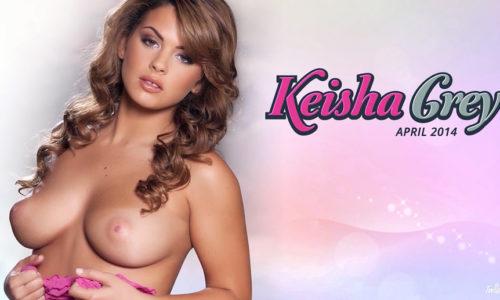 Keisha Grey Twistys Treat of the Month April 2014