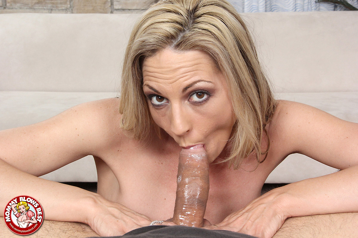Hot blonde sindy lange gets her milf pussy pounded by her stepson white cock