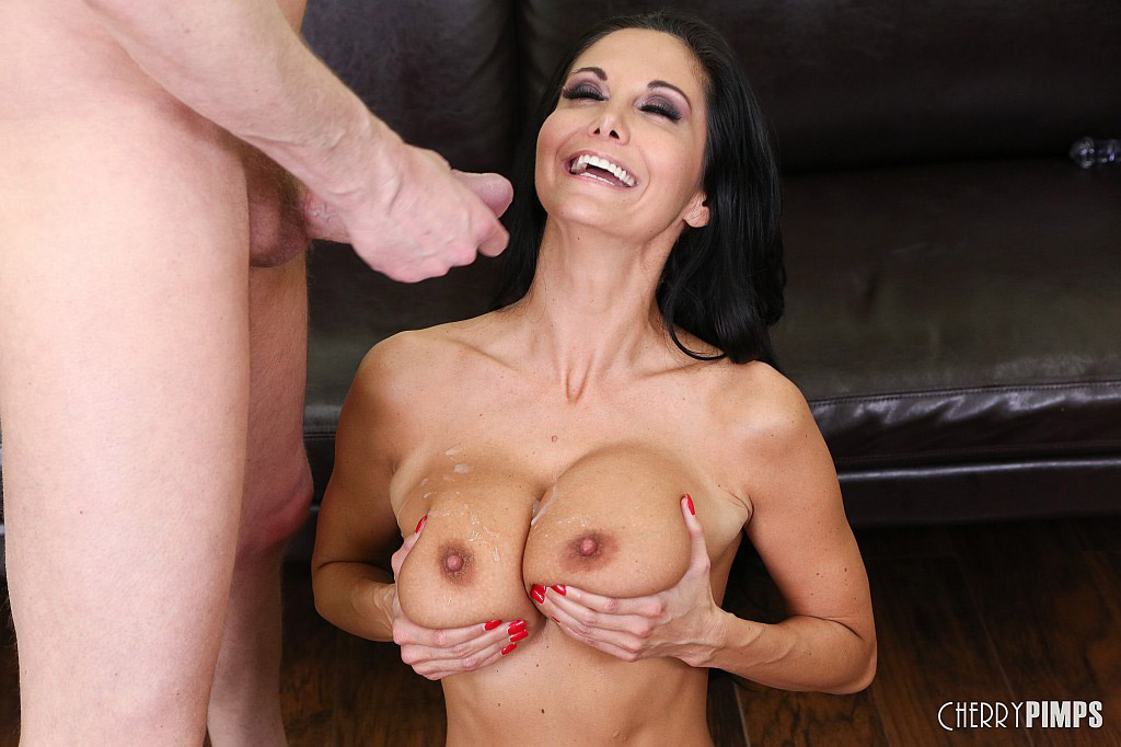 Ava Addams Hardcore Sex Ends with Cum on Tits
