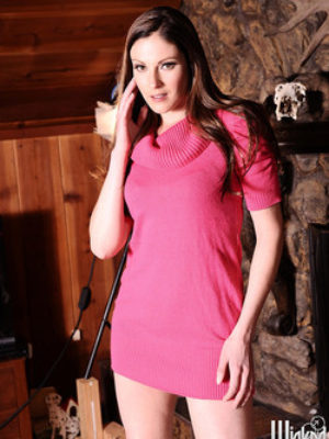 Samantha Ryan Hardcore Brunette Sexes Up Mountain Cabin