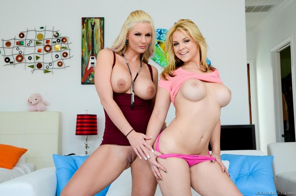 Phoenix Marie Shares a Dick With Sara Vandella