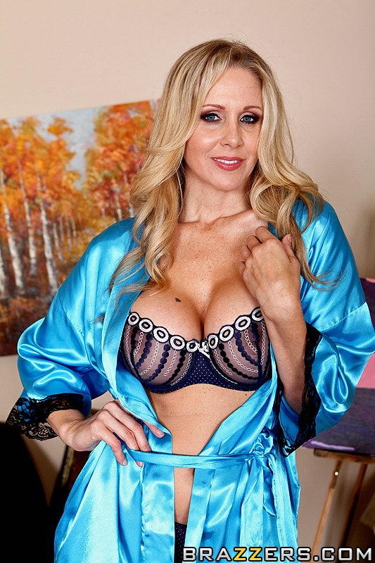 Julia Ann Trades a Painting for a Hard Prick