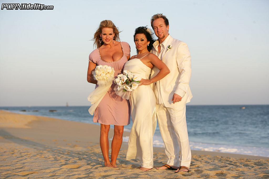 Sienna West Has Threesome on Wedding Night