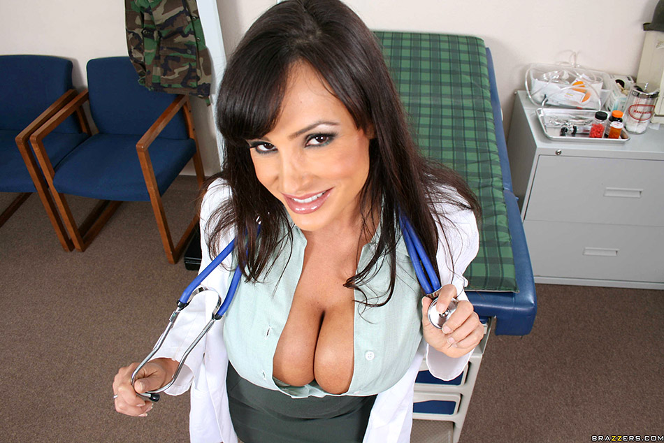 Lisa Ann is a Comforting Doctor