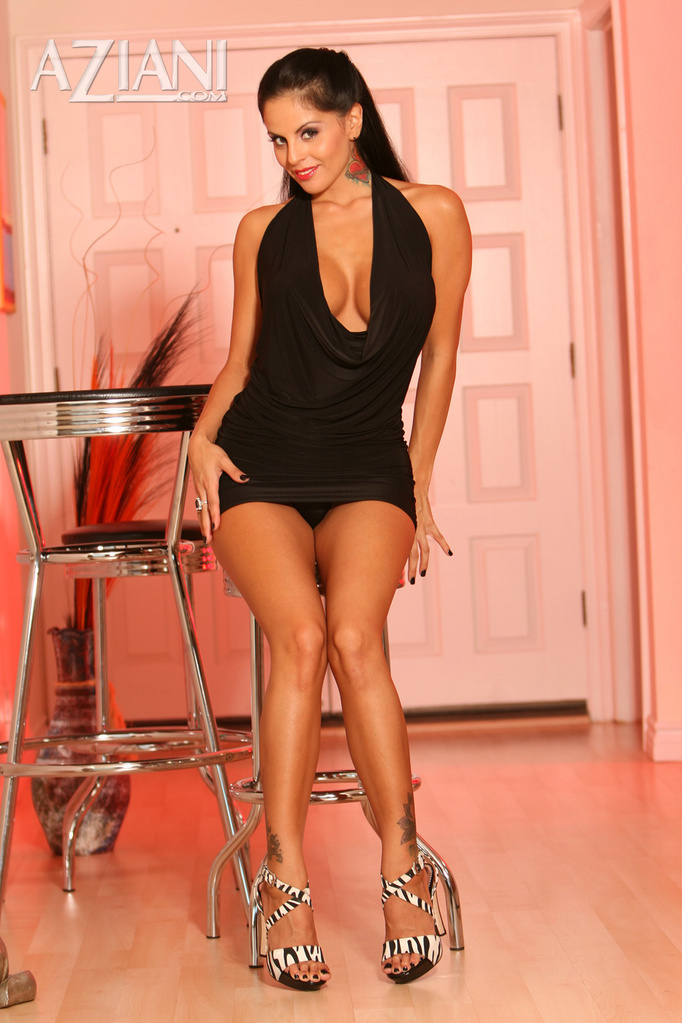 Mikayla Mendez is a True Siren in Sexy Black Dress