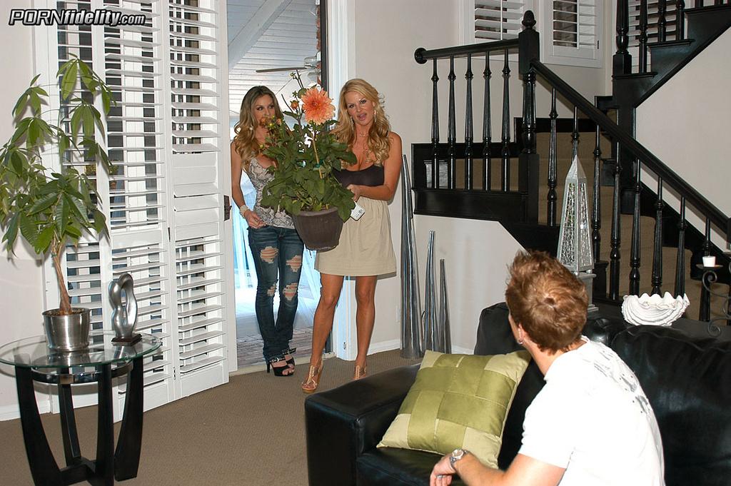 Kayla Paige Welcomes Her Neighbors into Threesome