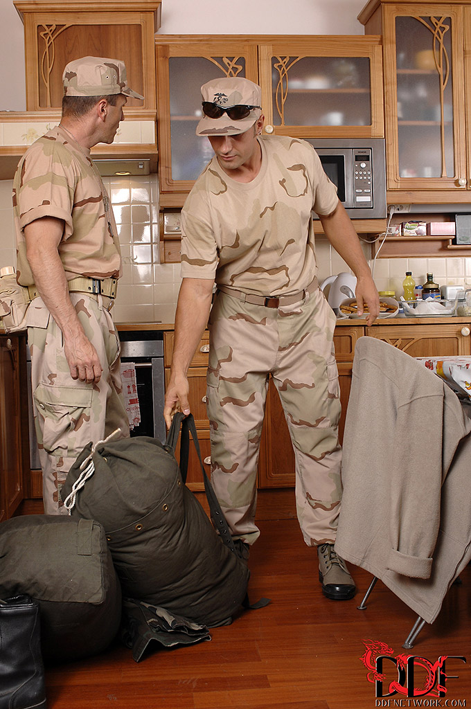 Ivana Sugar Gives Two Soldiers a Double Penetration Welcome Home