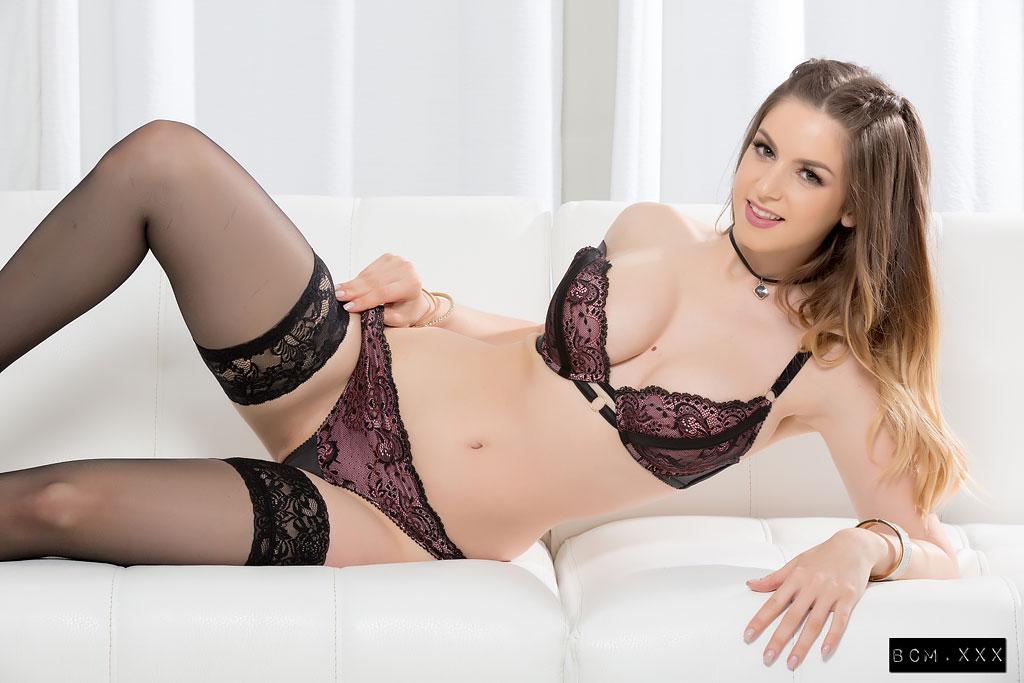 Stella Cox Sexy Brunette Loves BBC