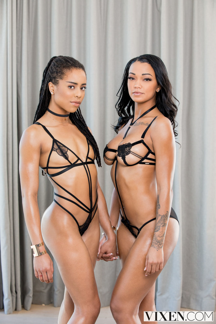 Kira Noir and Harley Dean are Double Trouble