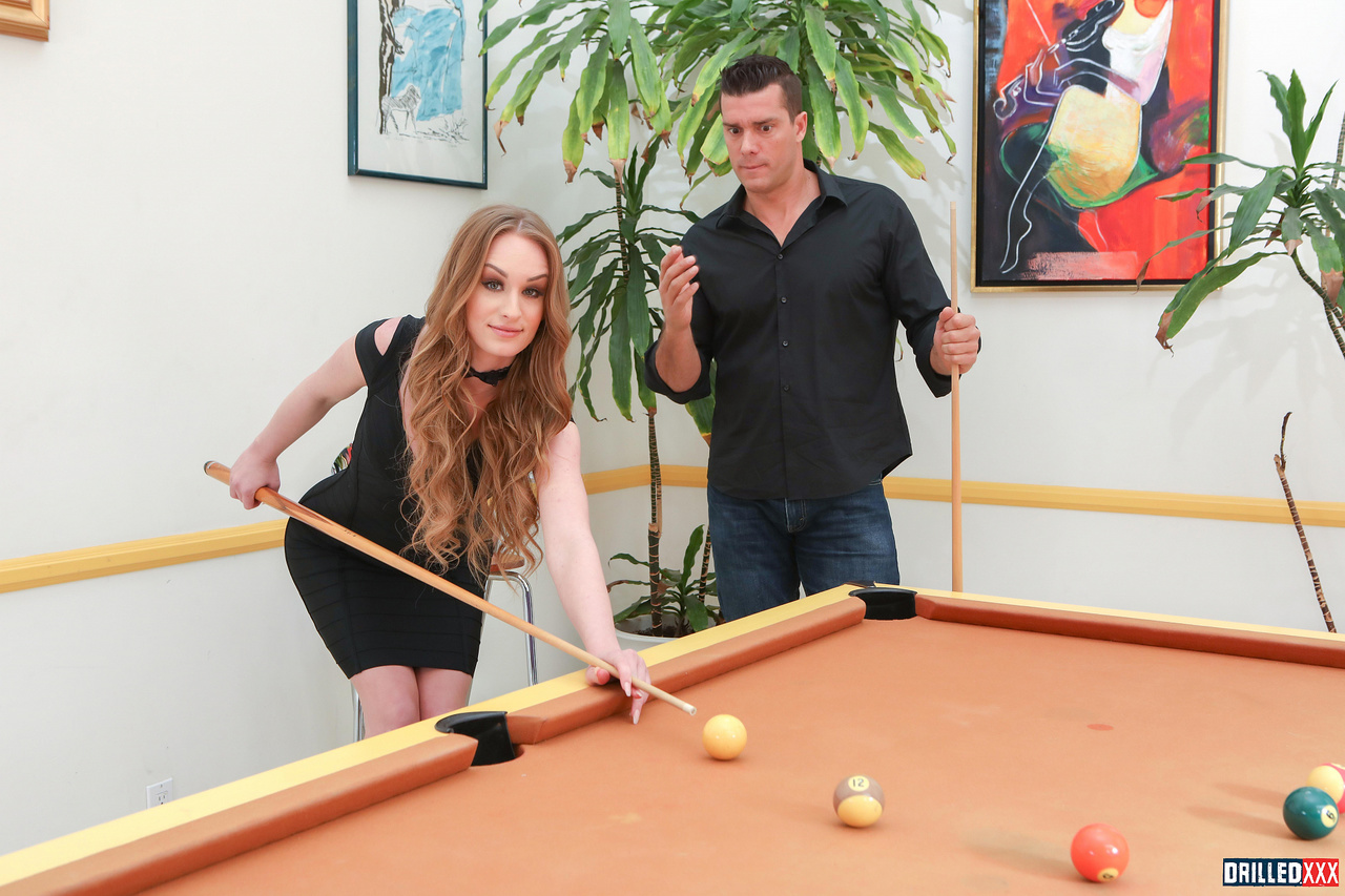 Daisy Stone Bets Her Ass in Pool